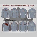 Custom-Made-Half-Zip-Tops